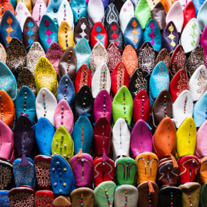 Marokko für Genießer: Die Glanzlichter des Königreichs ab Casablanca: Marokko Bunte Babouschen