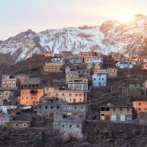 Soft Adventure Atlasgebirge ab Marrakesch: Marokko Imlil Atlas Gebirge