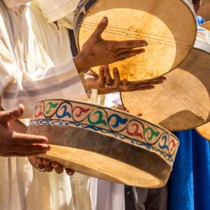 Südmarokko - Atlas & Wüste ab Marrakesch: Marokko Merzouga Berber Hochzeit