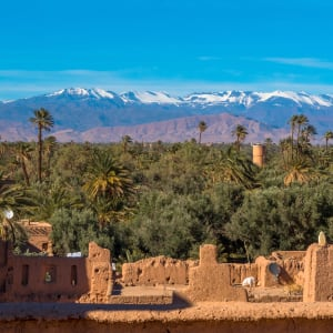 Südmarokko - Atlas & Wüste ab Marrakesch: Marokko Skoura Kasbah Kasbah Amridil
