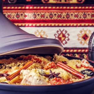 Auf den Straßen und Pisten des Königreichs ab Marrakesch: Marokko Traditionelle Tajine