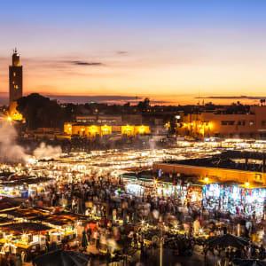 Südmarokko - Atlas & Wüste ab Marrakesch: Marrakesch Djemma El Fna