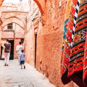 Königsstädte & Küste im Mietwagen ab Casablanca: Marrakesch Souk