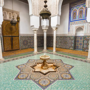 Königsstädte & Küste im Mietwagen ab Casablanca: Meknes Mausoleum Moulay Ismail