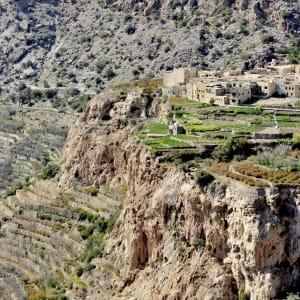 Bergsafari, EN, Halbtägig in Musandam: Oman Hajjar-Gebirge