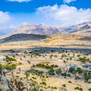 Natur & Kultur Oman ab Muscat: Oman Jebel Shams Landschaft