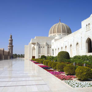 Natur & Kultur Oman ab Muscat: Oman Sultan Qaboos Moschee