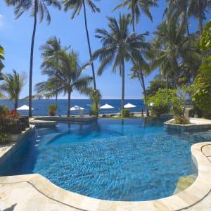 Alam Anda Ocean Front Resort & Spa in Ost-Bali | Sidemen:  Alam Anda Ocean Front Resort and Spa Pool