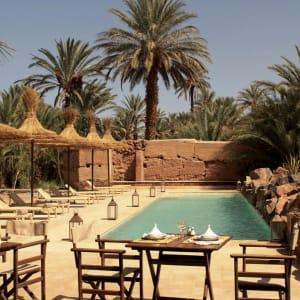 Azalai Desert Lodge in Sahara Wüste   Drâa-Tal:  Marokko Azalai Desert Lodge Pool