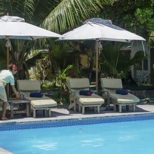 Indian Ocean Lodge in Praslin:  Praslin Indian Ocean Lodge Pool
