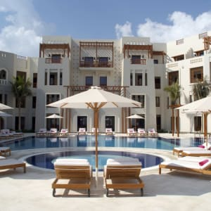 Sifawy Boutique Hotel in Muscat:  Sifah Sifawy Boutique Hotel Pool