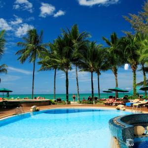Khao Lak Bayfront Resort:  Thailand Khao Lak Bayfront Resort Pool