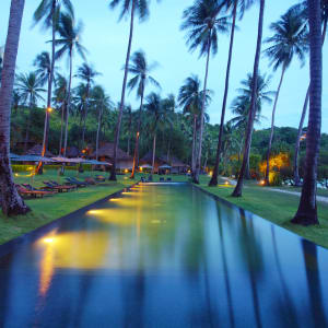 The Haad Tien Beach Resort in Ko Tao:  Thailand The Haadtien Beach Resort Pool
