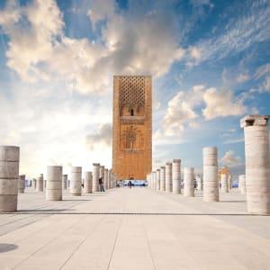 Marokko für Genießer: Die Glanzlichter des Königreichs ab Casablanca: Rabat Hassan Turm