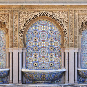 Höhepunkte Marokkos ab Casablanca: Rabat Marokkanische Fliesen