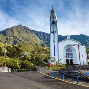 Höhepunkte La Réunion ab Küstenregion: Réunion Cilaos Kirche