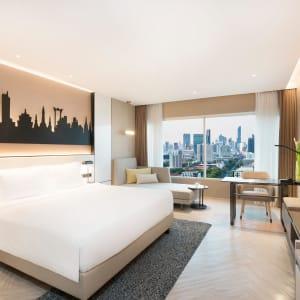 Pathumwan Princess in Bangkok:  Bangkok Pathumwan Princess Hotel Deluxe Classic Zimmer