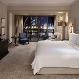 Palace Downtown Dubai:  Dubai The Palace Downtown Deluxe Zimmer