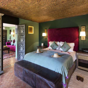 Kasbah Tamadot in Atlasgebirge:  Marokko Kasbah Tamadot Deluxe Suite