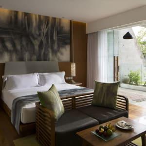 Maya Sanur Resort & Spa in Süd-Bali:  Maya Sanur Resort and Spa Deluxe Gartenblick Zimmer
