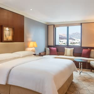 Sheraton Oman in Muscat:  Muscat Sheraton Oman Deluxe Zimmer