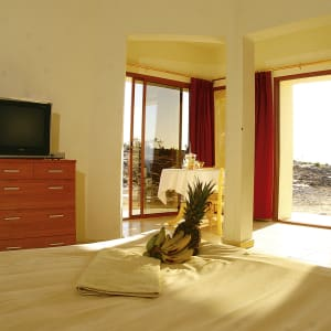 Jebel Shams Resort in Gebirge:  Oman Jebel Shams Resort Wohnbeispiel