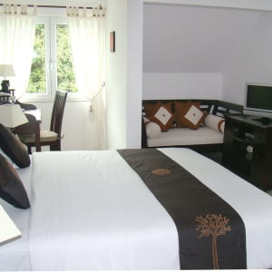 Hannemann Holiday Residence in Mahé:  Seychellen Hannemann Holiday Residence Penthouse