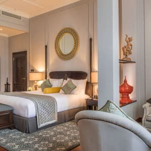 The Strand in Yangon:  The Strand Yangon Deluxe Suite
