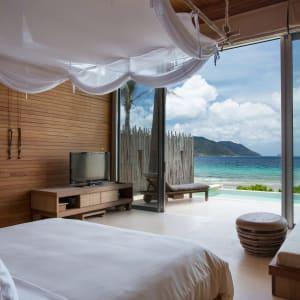 Six Senses Con Dao in Saigon:  Vietnam Six Senses Con Dao Oceanfront Pool Villa