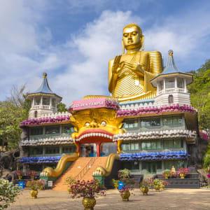 Sigiriya Jungles und Umgebung: Sri Lanka Dambulla Golden Temple
