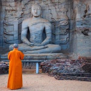 Sigiriya Jungles und Umgebung: Sri Lanka Polonnaruwa Tempel