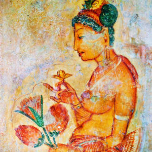 Sigiriya Jungles und Umgebung: Sri Lanka Sigiriya Freske