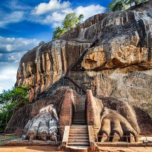Familienabenteuer Sri Lanka ab Colombo: Sri Lanka Sigiriya Lion Rock