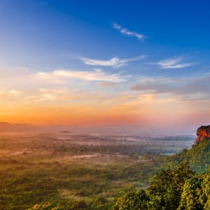 Auf neuen Wegen ab Colombo: Sri Lanka Sigiriya Lion Rock