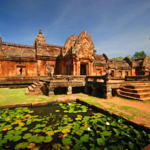 Isan und Süd-Laos ab Bangkok: Thailand Isan Prasat Hin Phanom Rung