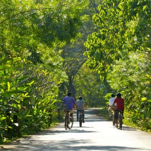 Soft Adventure River Kwai ab Bangkok: Thailand Kanchanaburi Fahrradtour