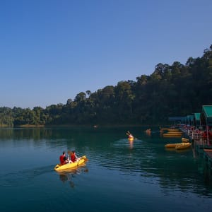 Dschungel-Safari Elephant Hills Camp ab Phuket: Thailand Khao Sok Nationalpark Rainforest Camp