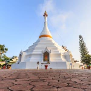 Mietwagenreise Mae Hong Son ab Chiang Mai: Thailand Nordthailadn Mae Hong Son Wat Phra That Doi Kung Mu
