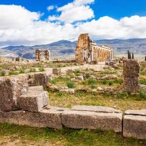 Höhepunkte Marokkos ab Casablanca: Volubilis Roemische Ausgrabungen