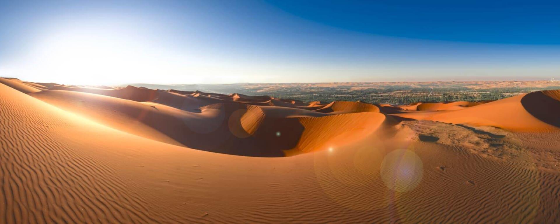Vereinigte Arabische Emirate entdecken mit Tischler Reisen: Abu Dhabi Rub al Khali Wüste
