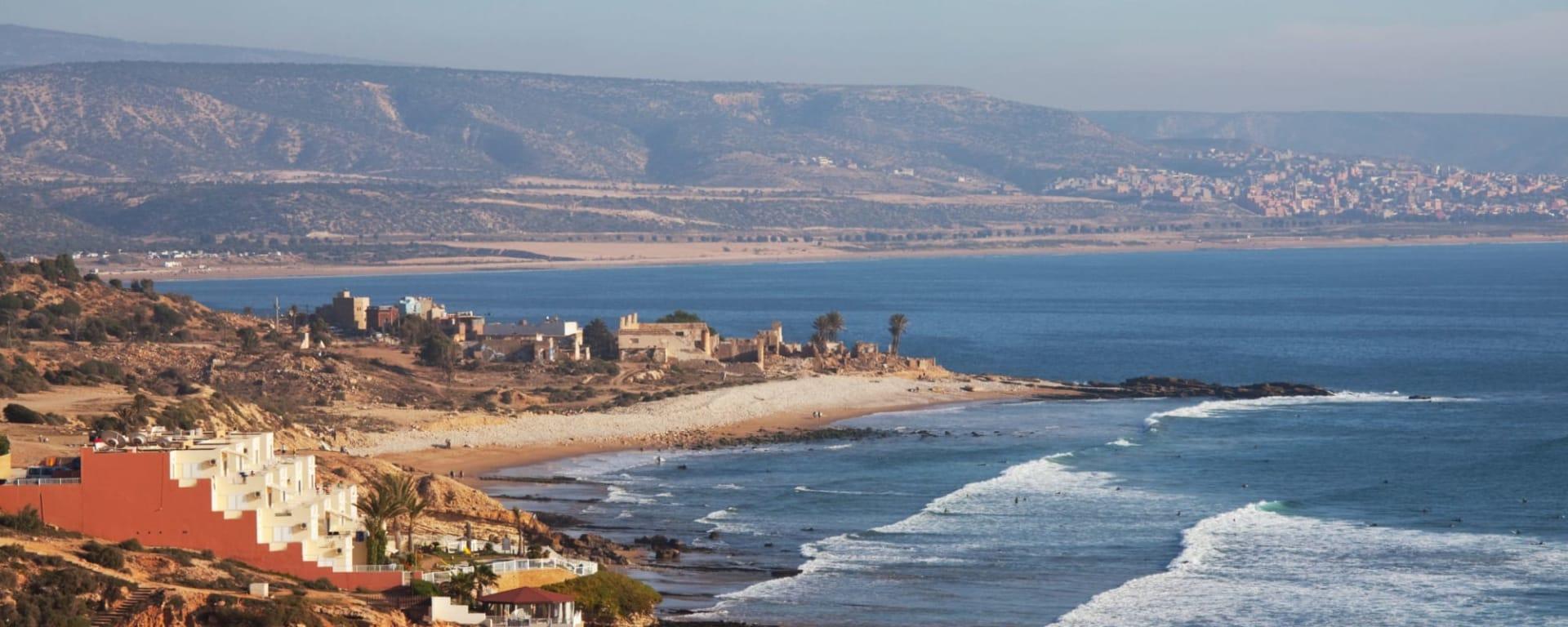 Stadtrundfahrt Agadir, EN, Halbtägig in Agadir   Taghazout: Agadir