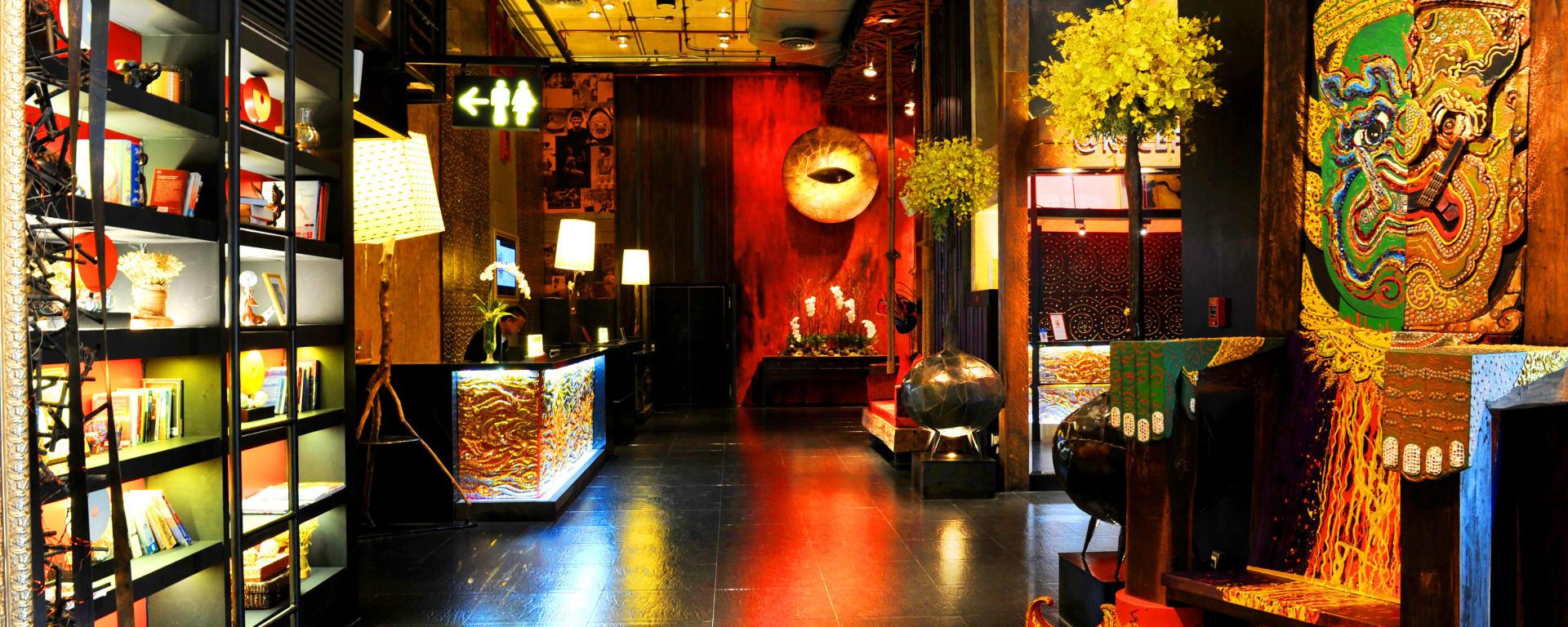 Siam@Siam Design Hotel in Bangkok: Bangkok Siam@Siam Design Hotel Rezeption