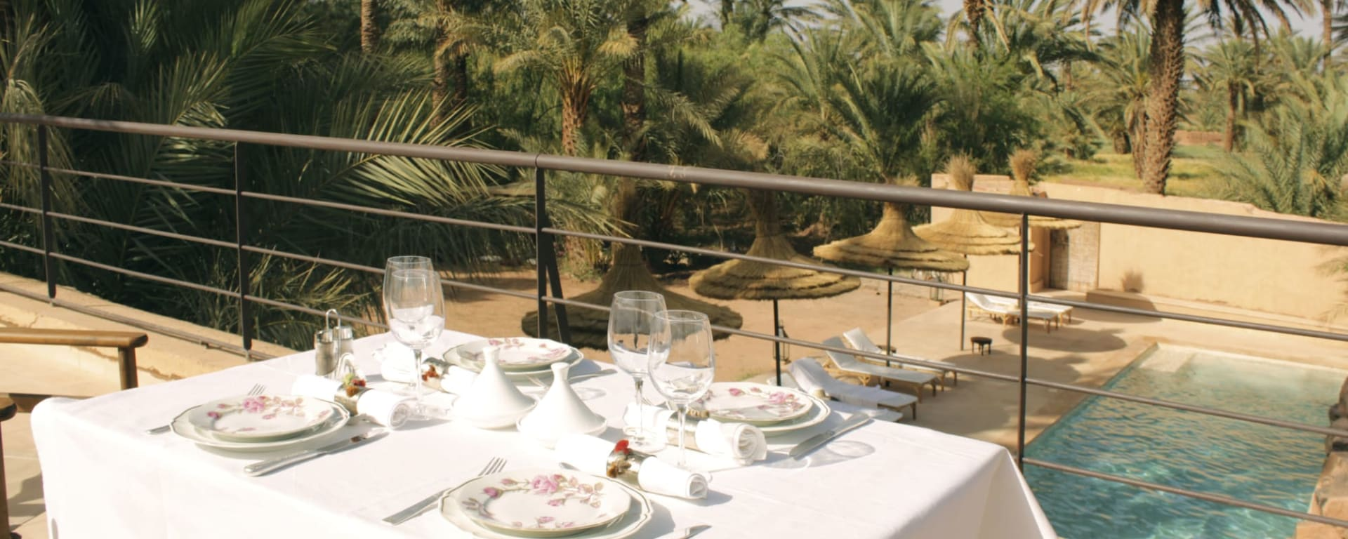 Azalai Desert Lodge in Sahara Wüste   Drâa-Tal: Marokko Azalai Desert Lodge