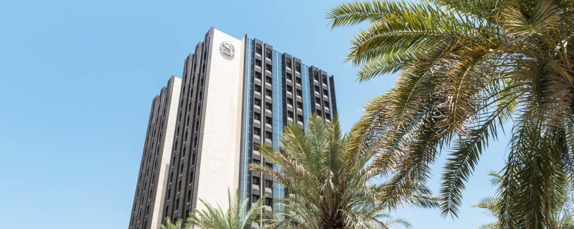 Sheraton Oman in Muscat: Muscat Sheraton Oman Aussenansicht