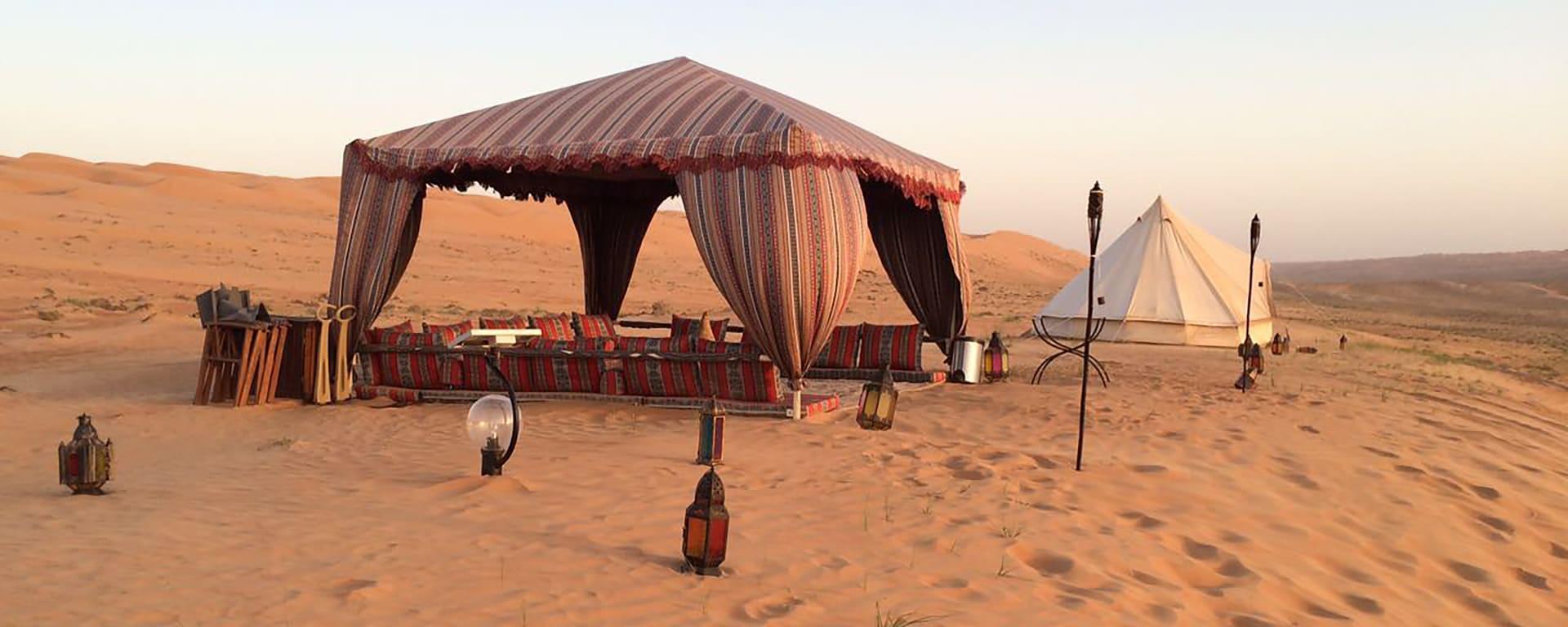Canvas Club in Wüste: Oman Canvas Club