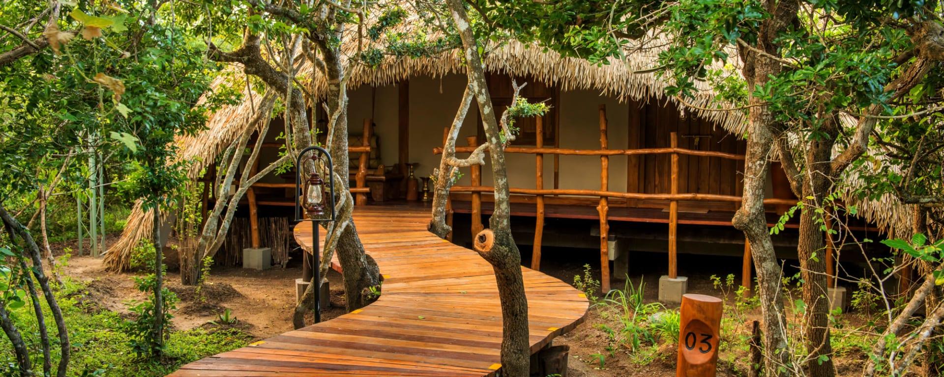 Uga Chena Huts in Yala National Park: Sri Lanka Chena Huts