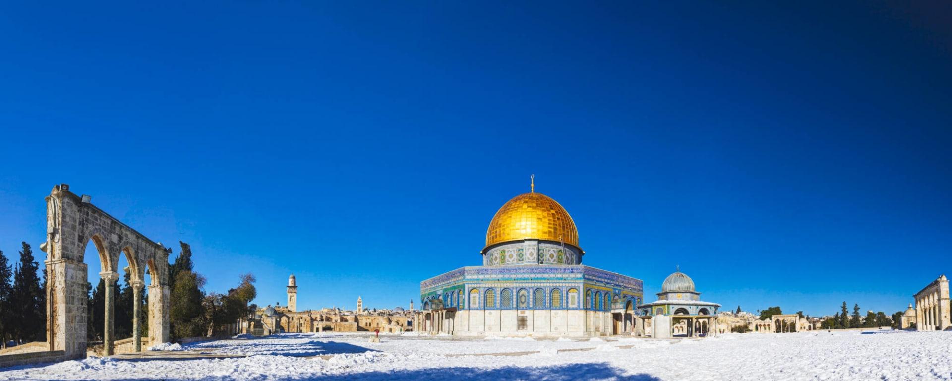 Israel entdecken ab Tel Aviv: Israel Jerusalem Felsendom