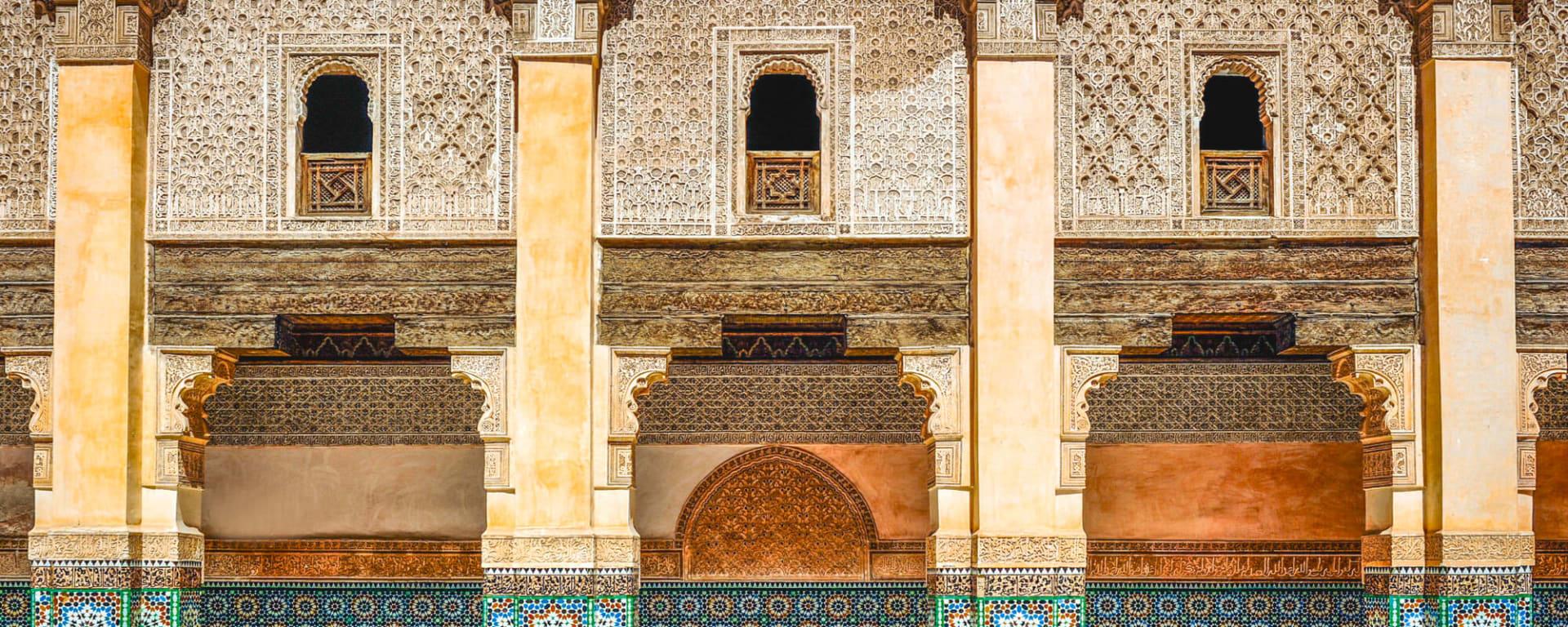 Marokko für Genießer: Die Glanzlichter des Königreichs ab Casablanca: Marokko  Typische Bauweise