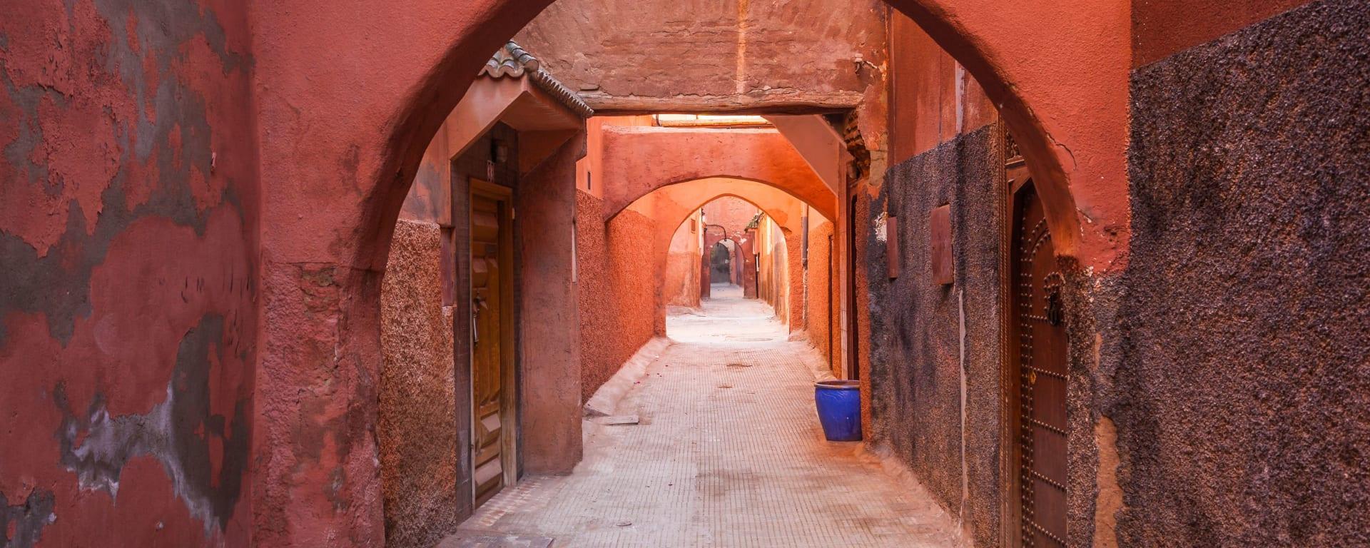 Marokko für Genießer: Die Glanzlichter des Königreichs ab Casablanca: Marrakesch die rote Perle