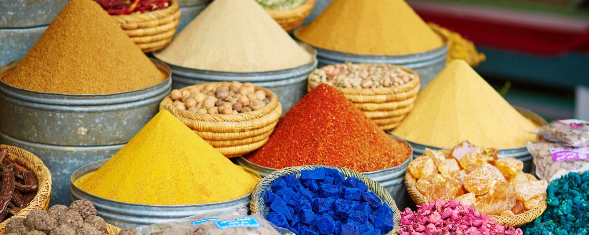 Marrakesch, DE, Ganztägig in Casablanca: Marrakesch Markt